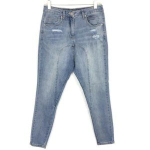 Camilla and Marc Jeans Drop Crotch Distressed